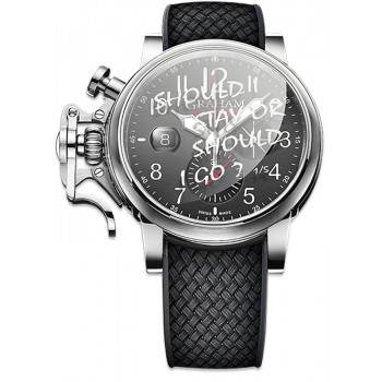 "Chronofighter GRAND VINTAGE ""SHOULD I STAY? SHOULD I GO?"" Ltd 5"