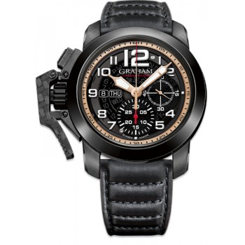 Chronofighter Steel Black PVD